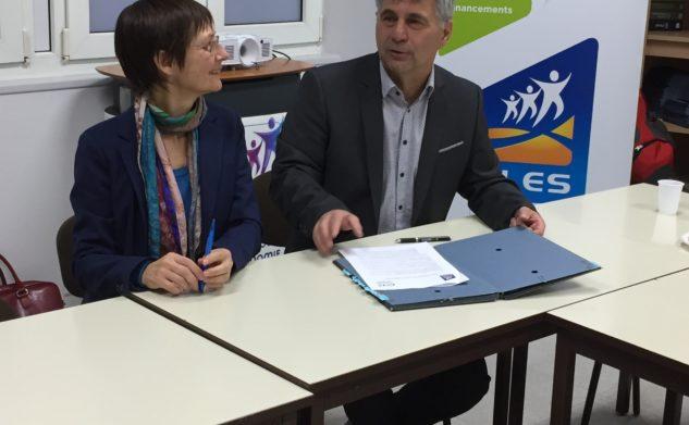 Convention de partenariat entre le PLES et la Chambre des Métiers de l'Indre