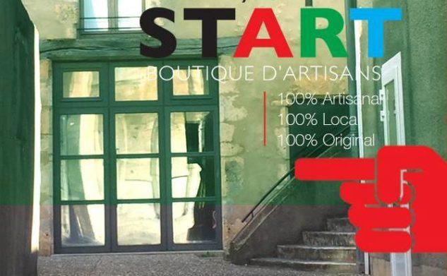 Ouverture de la Boutique partagée d'artisans «Collectif Start» à Saint Marcel (36200)