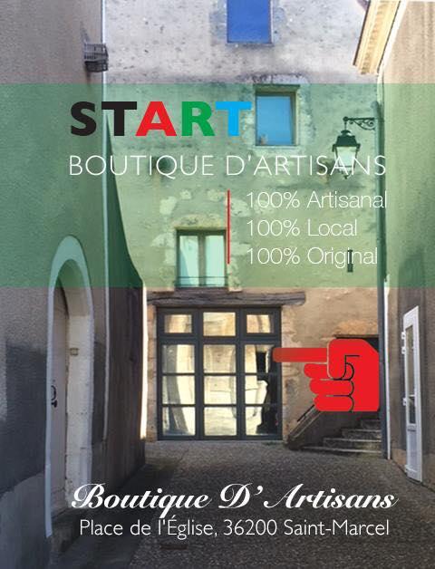 La boutique partagée 'COLLECTIF START' de St Marcel