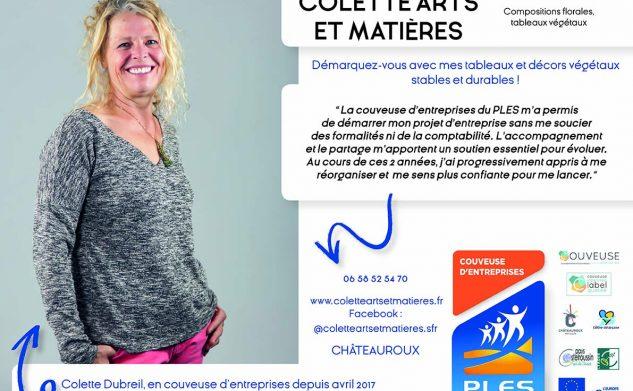 Colette Dubreil, entrepreneure de la semaine à la Boutique Partagée 'D'Ici Et Deux Mains'