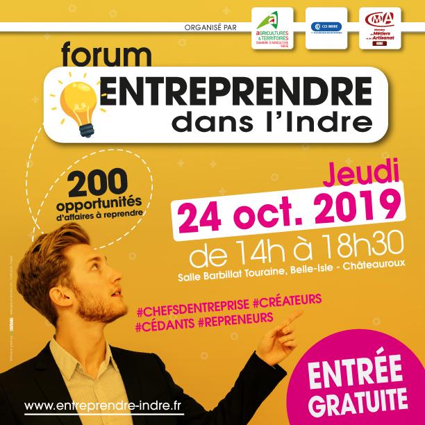 Présence du PLES au Forum Entreprendre dans l'Indre