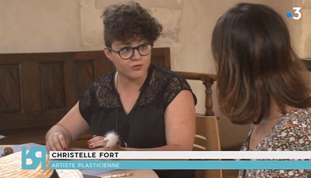 Christelle Fort, une ancienne EAE du PLES a participé à l'émission Renversant sur France 3