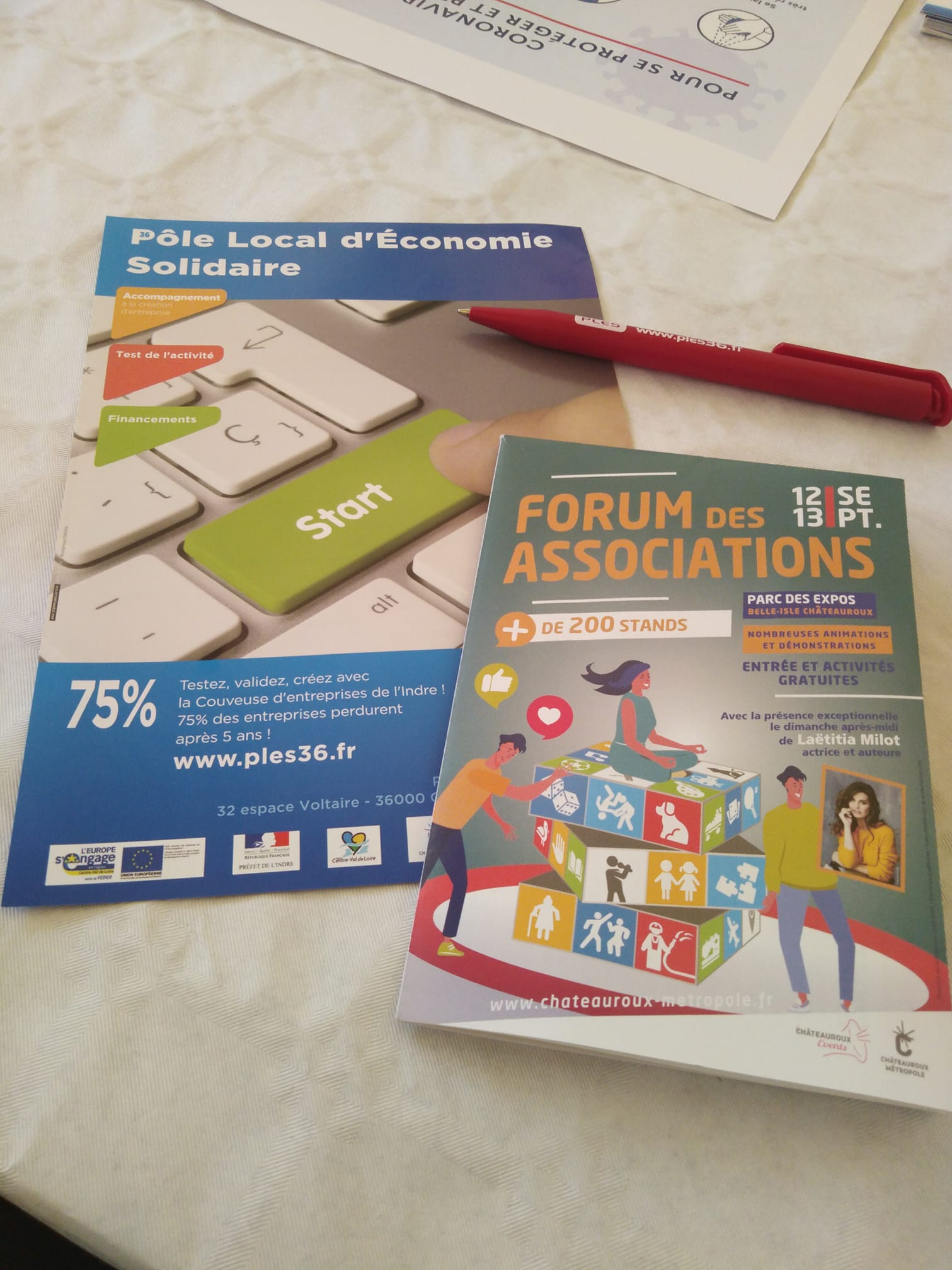 Retour en image du Forum des Associations 2020
