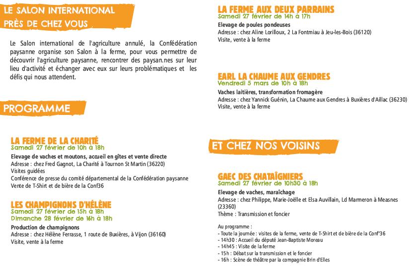 Programme Salon V2