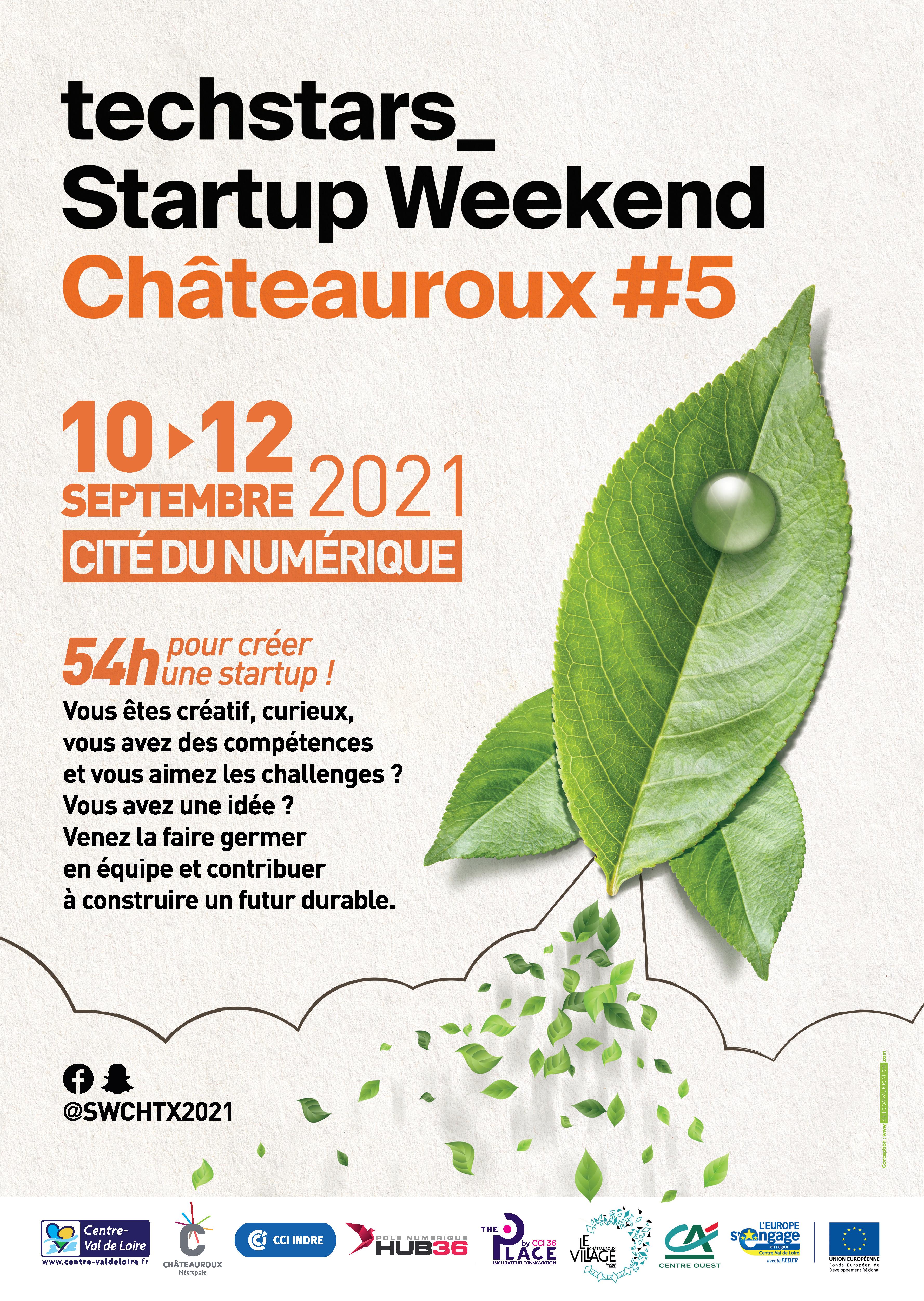 Startup Weekend à la Cité du Numérique à Châteauroux