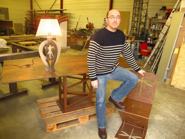 Aurélien Pierry ( Pierry Création ) Trophée de l'artisanat 2016